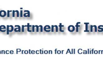 department of insurance california