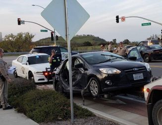 One injured in car crash at Highway 46 west and Theater Drive