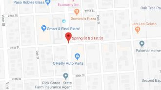 woman struck crossing spring street paso robles