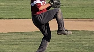 Ryan Harvel pitching paso robles baseball