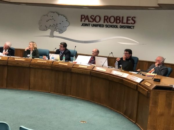 School board receives budget report