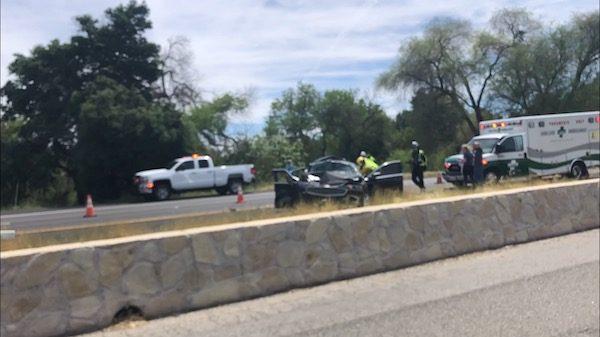 Update: Major collision on Highway 101 causes injuries