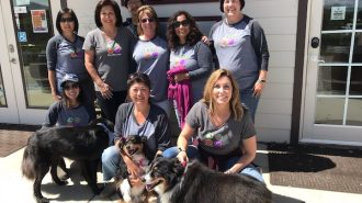 wine for paws event