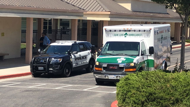 Paso Robles Emergency Services respond to Daniel Lewis Friday morning