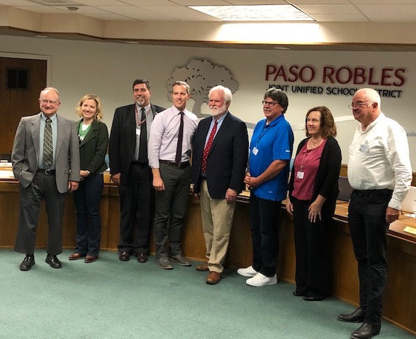 Curt Dubost unanimously approved by the Paso Robles School Board