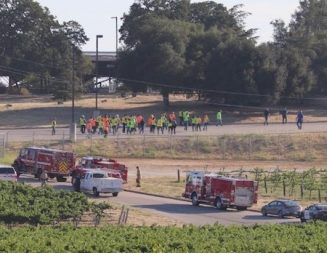 Fire, hazmat teams responding to ammonia leak at winery