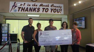 Kennedy Club Fitness members raise $1500 for hunger awareness