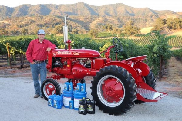 Tyler Schimke, has advanced to compete in the Delo National Tractor Restoration Program in Indianapolis