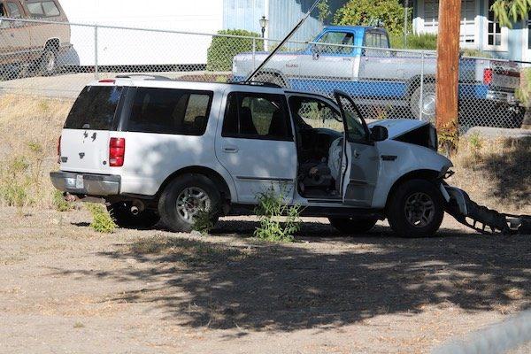 accident on creston road, paso robles