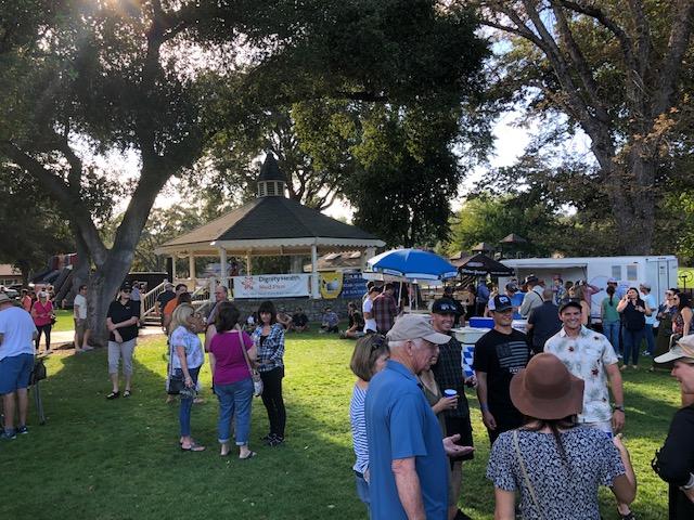 Hundreds enjoy Oktoberfest in Templeton