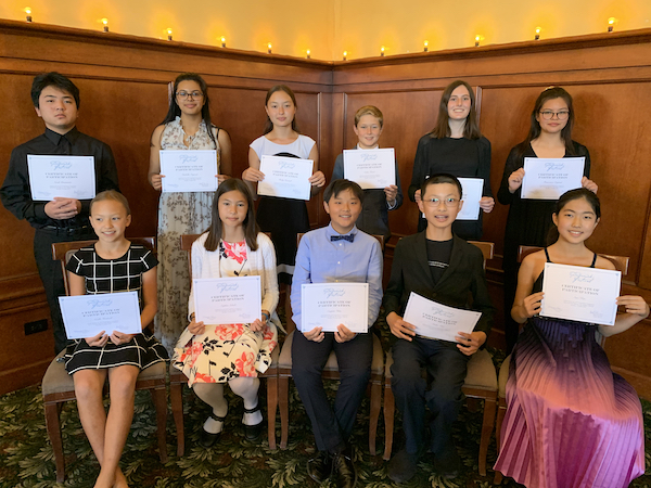 Paderewski Festival announces Youth Competition winners