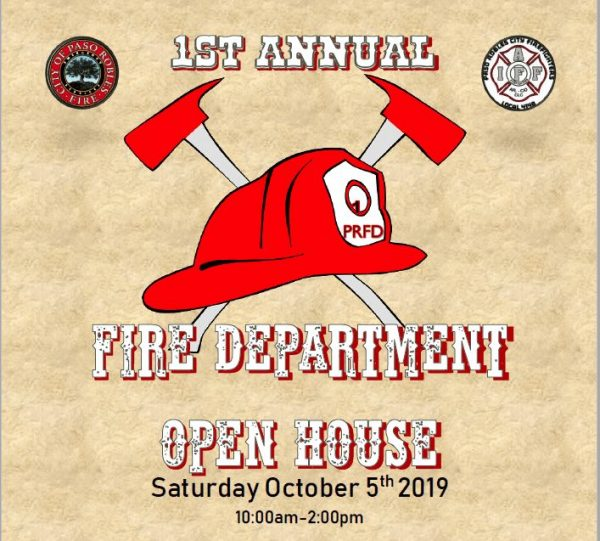 Paso Robles firefighters hosting open house