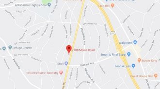 Pedestrian injured after being struck by vehicle on Morro Road