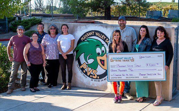 Pleasant Valley Wine Trail raises 11k for San Miguel School