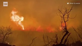 CNN: Fire in Santa Barbara County burns 3000 acres, 0-percent contained