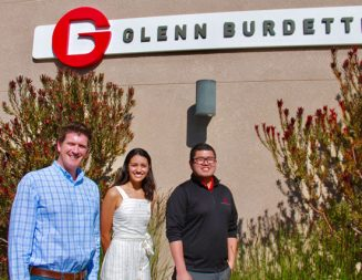 Cal Poly student wins scholarship and internship with Glenn Burdette