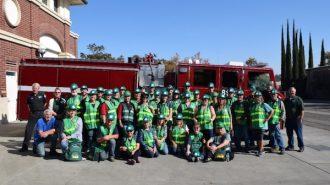 The 2019 North San Luis Obispo County CERT graduating class and instructors.