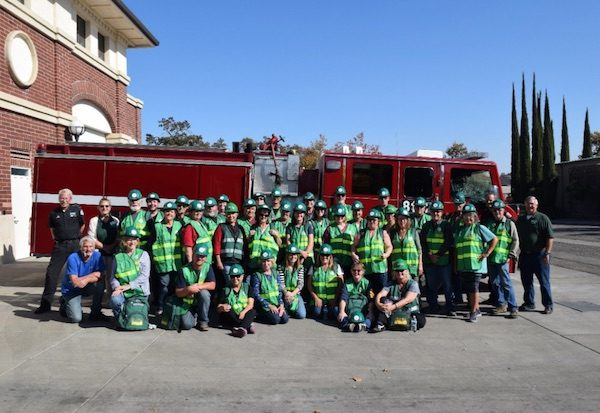 The 2019 North San Luis Obispo County CERT graduating class and instructors.
