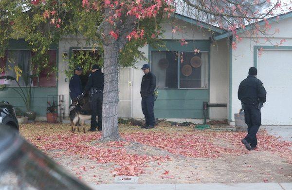 man arrested hiding in attic