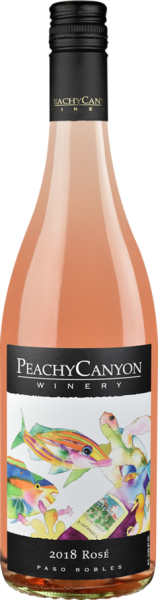 paso robles rose wines peachy canyon label