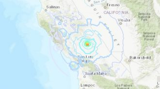 4.3 magnitude earthquake reported 6.8-miles from Cholame