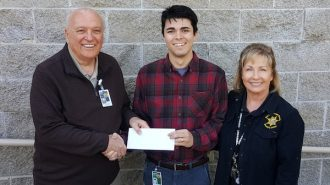 Sheriff's office scholarship awarded to Joseph Van Meter