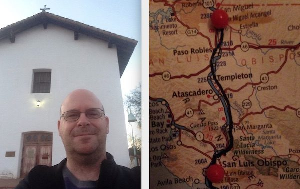 Man on quest to visit 21 California Missions by foot