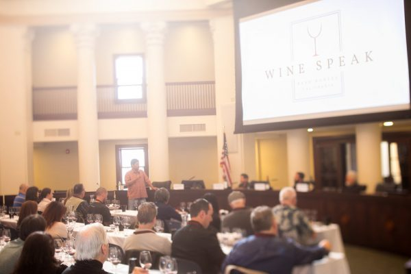 wine speak paso robles, calif
