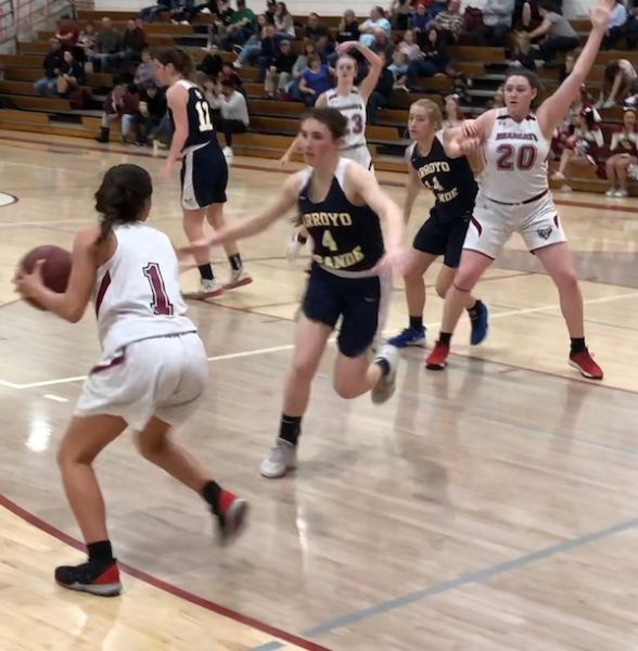 Bearcats Girls Basketball loses to Arroyo Grande
