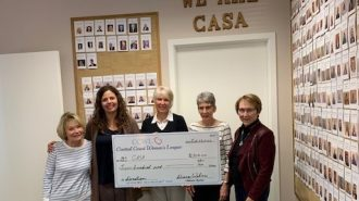 CASA receives donation from Central Coast Women's League