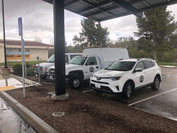 Paso-Robles-service-vehicles-at-centennial-park