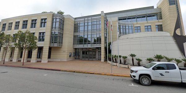 SLO county government center FBI investigation