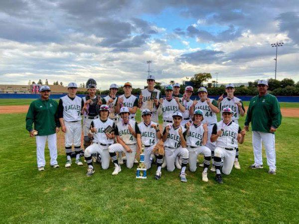 Tempelton Eagles baseball team photo by Matt MacFarlane of THS