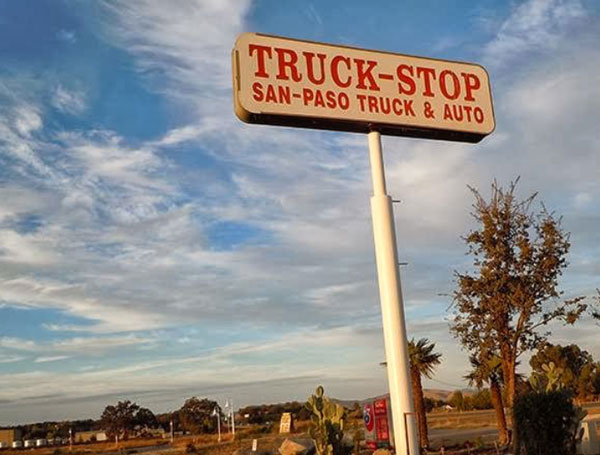 free-breakfast-for-truckers at San Paso in Paso Robles