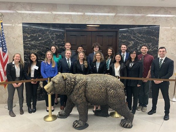 Cal Poly students honored at State Capitol March 2