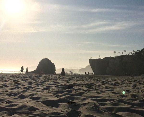 Pismo Beach last week