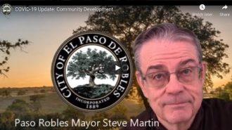 Mayor Steve Martin releases video update