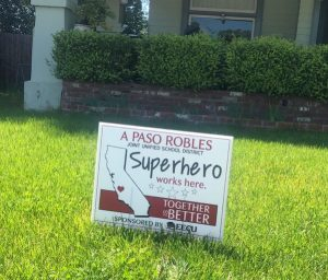 Paso Robles Joint Unified School District recognizes 'superhero' staff