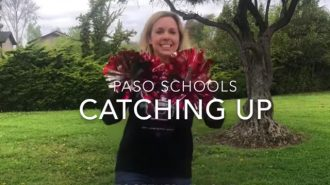 "A fun video montage for our students to enjoy! Your PRJUSD staff misses you! We had a great time ""catching up"" with you through this video, distance learning and meal pick ups! Be well!"