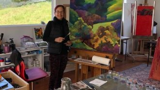Take a virtual painting class with Studios on the Park founder Ann Landon