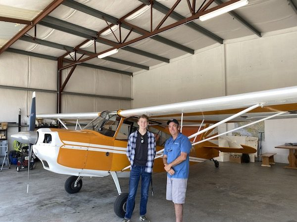 4-Aiden Bajema and Kendall Pearson Flight Instructor