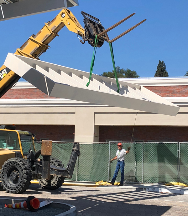 Construction at Flamson Middle School