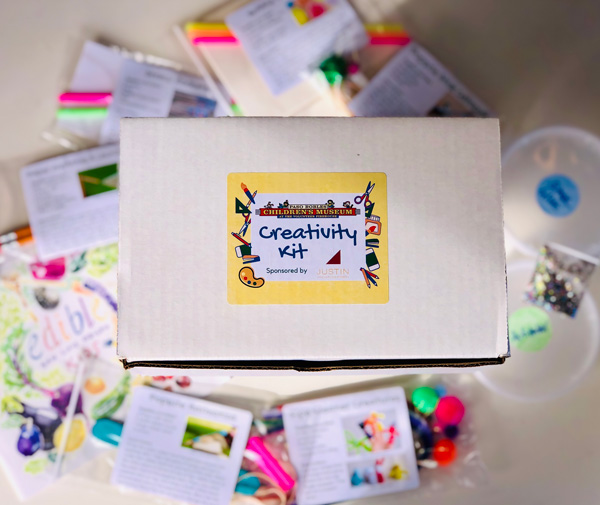 Children's Museum handing out free creativity kits on Saturday, May 30