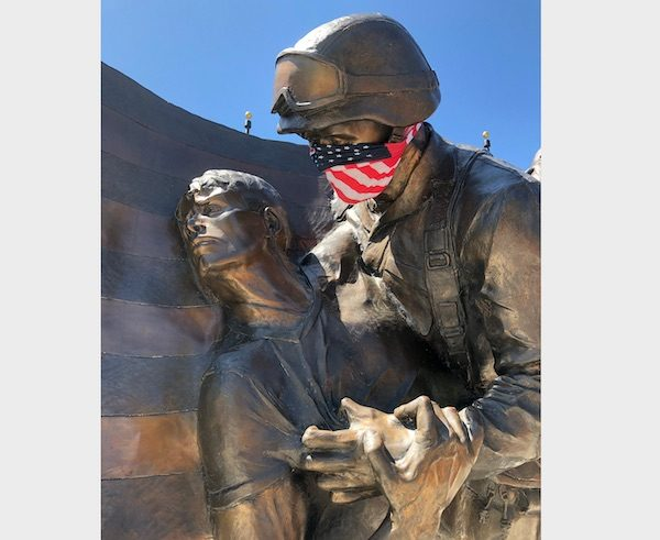 Locals pay respects at Faces of Freedom memorial in Atascadero