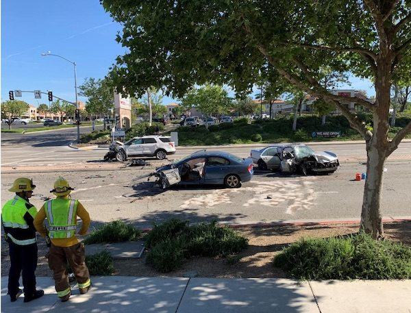 Man arrested for felony hit and run, DUI after colliding with two vehicles