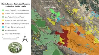 Nearly 20 square miles of land in SLO County designated as 'North Carrizo Ecological Reserve'