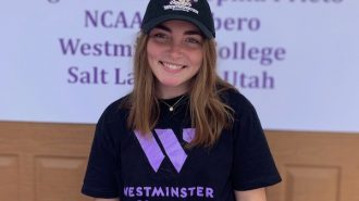On Monday April 20, Sophia Prieto signed her letter of intent to attend Westminster College in Salt Lake City Utah to play volleyball