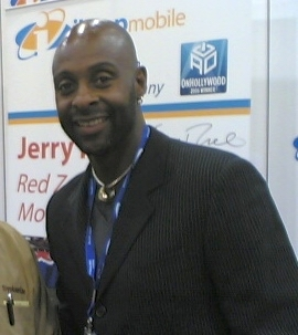 American former professional Jerry Rice.