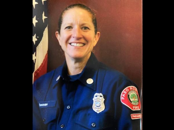 Amanda Donovan paso robles fire