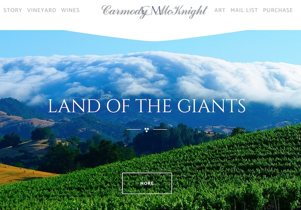 Carmody McNight Vineyards unveils new website